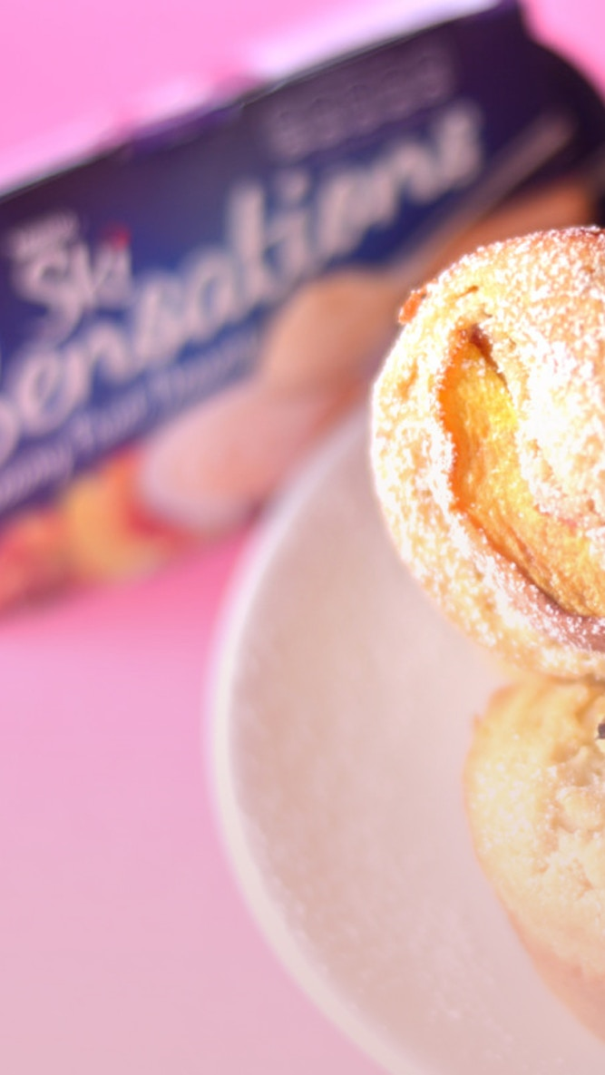 Utterly Scrummy Ski Peach Muffins