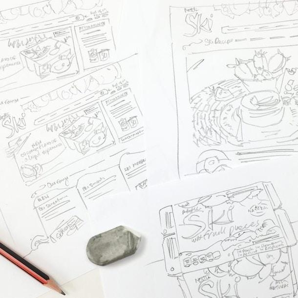 Munch Bunch Sketch