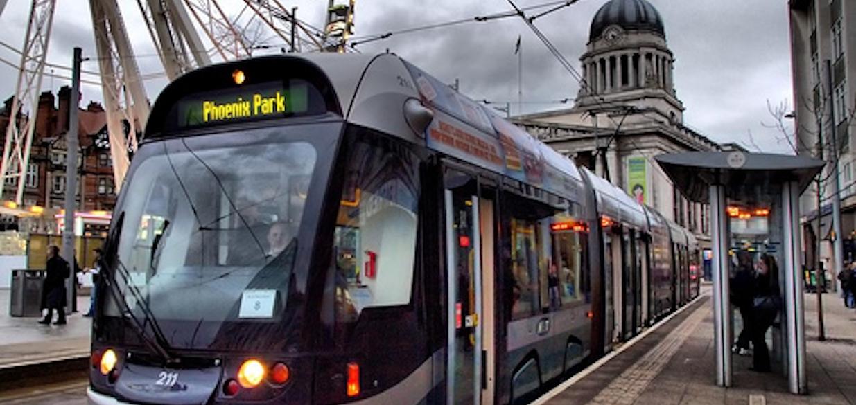 The Tram Nottingham